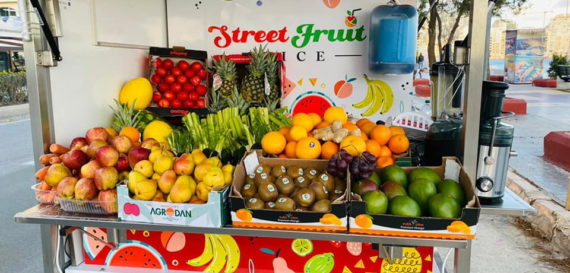 Street Fruit Juice Summer 2021