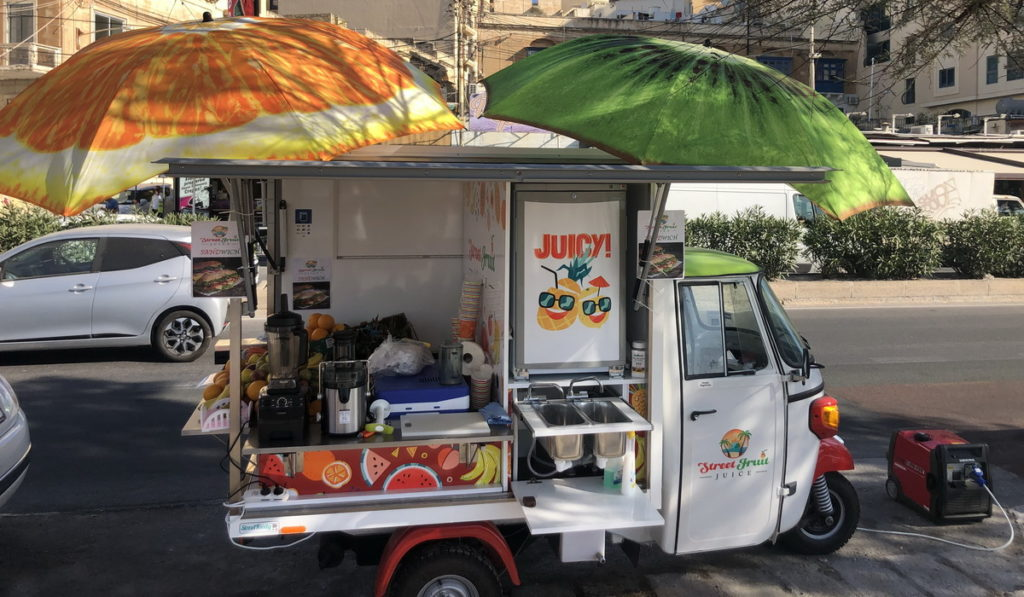 Street Foody on the road